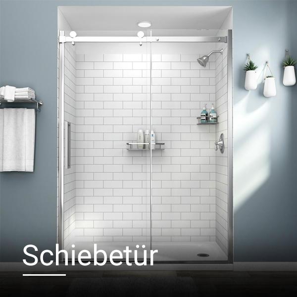 Schiebetür Duschwand Duschglass Luxus